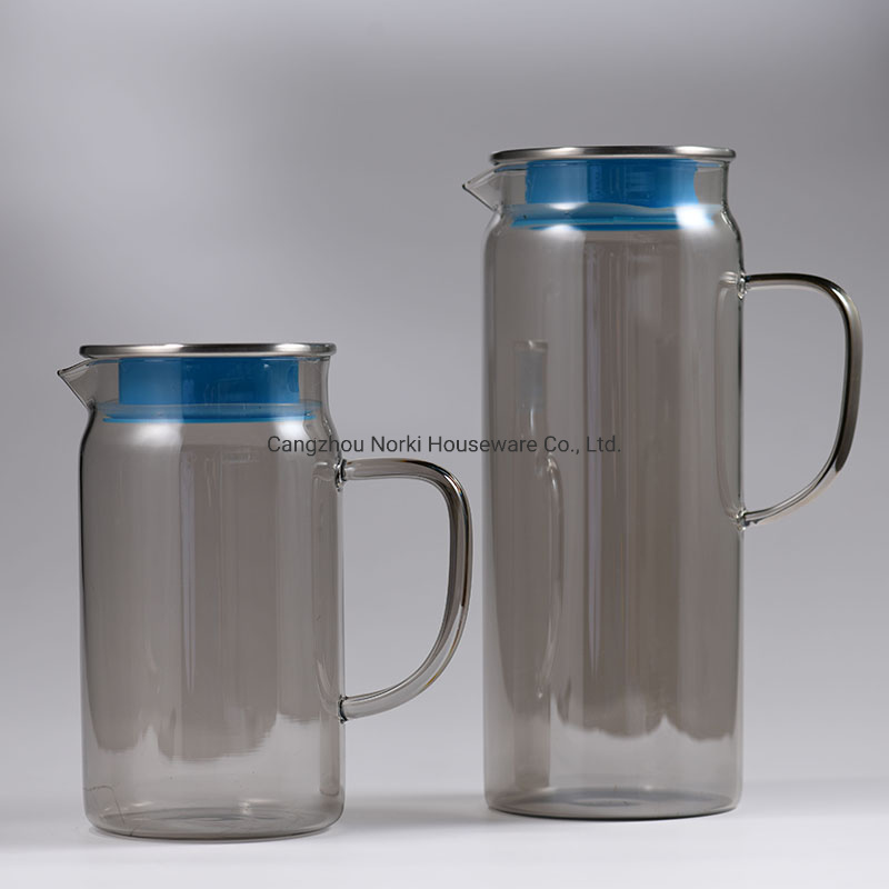 Heat Resistant Gl Pitcher With Lid