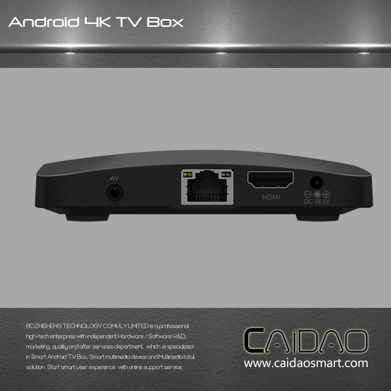 Media Player Android 7.0 2g+8g Internet Smart TV Box pictures & photos