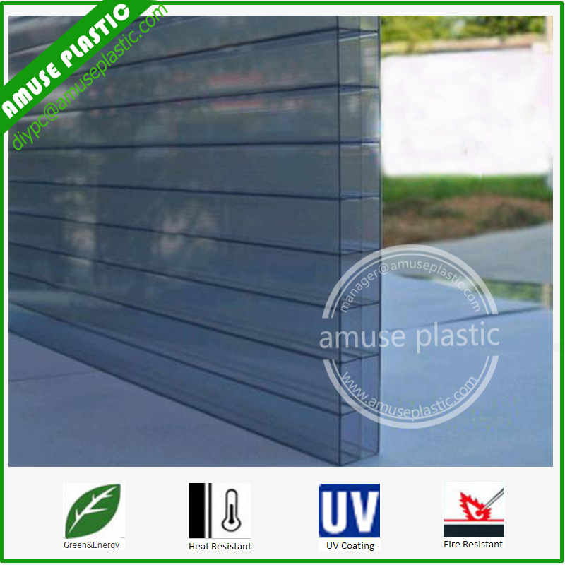 Best Sold Building Plastic Honeycomb Polycarbonate Sheet/Cellular PC Sheet pictures & photos