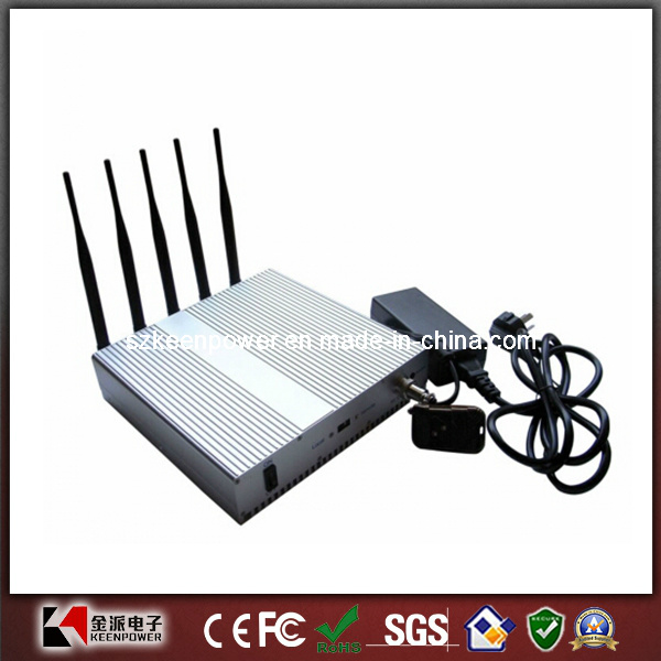 Remote Desktop GPS Jammer Cellphone Jammer