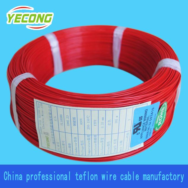 China UL 10086 ETFE Teflon Insulated Electric Wire - China Teflon ...