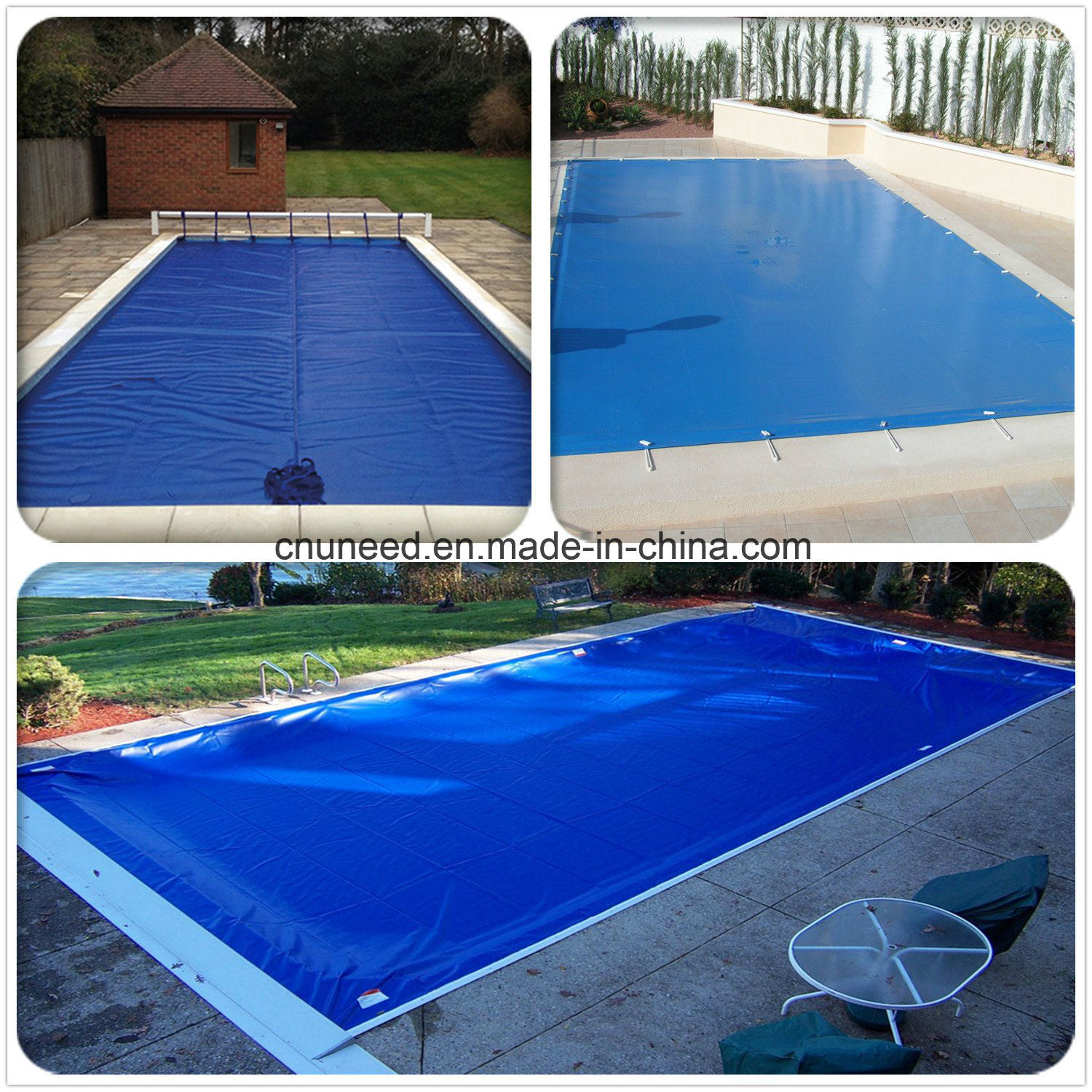 [Hot Item] in-Ground Pool Cover Reel, Sun Cover, Swimming Pool Covers