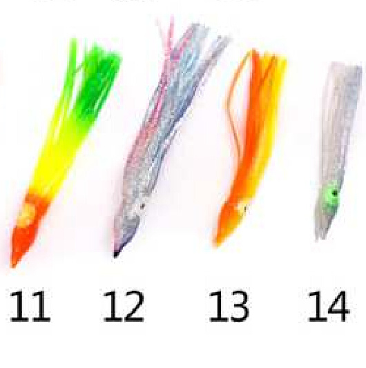 Hot Selling Octopus Squid Skirt Lure