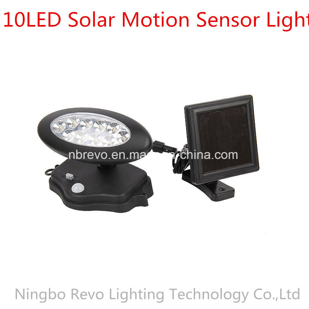 10LED Solar PIR Motion Sensor Security Light (RS2013) pictures & photos