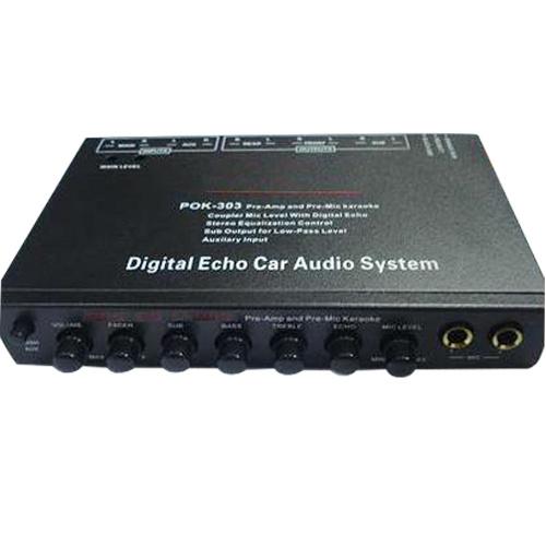 China Digital Echo Car Audio Equalizer 1 China Equalizer Car