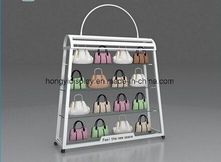 fae201792c1 [Hot Item] Custom Retail Store Lady Bag Display Cabinet, Handbag Store  Design and Decoration, Wholesale