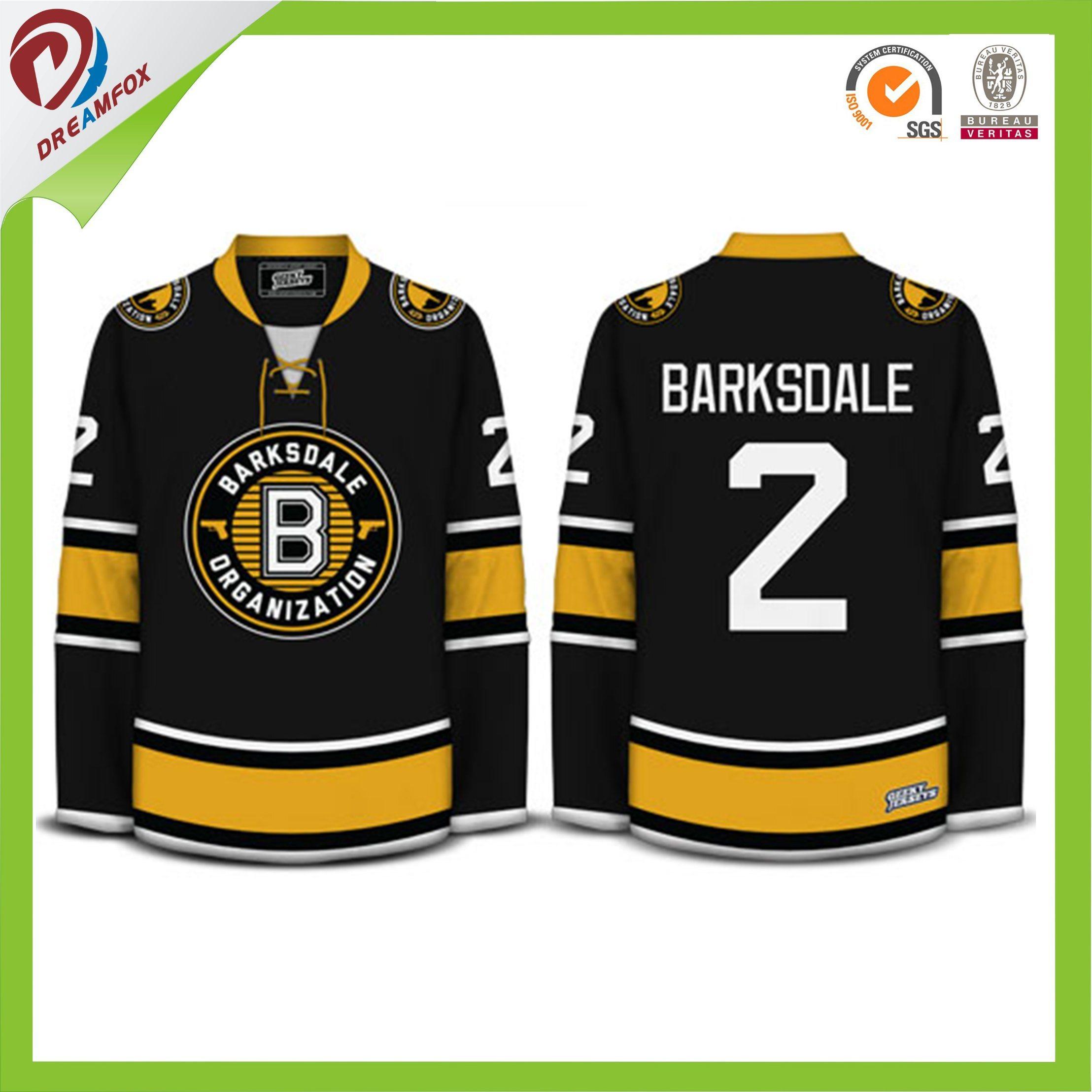 China Good Quality Custom Design Canada Team Set Ice Hockey Jersey