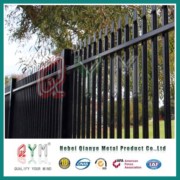 China Metal Garden Fencing/Metal Picket Fence/Modern Fence Panels   China  Picket Fence, Metal Picket Fence