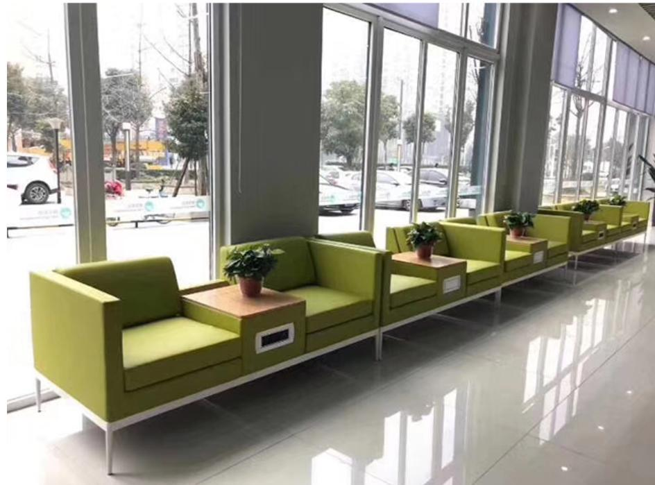 Modern Office Visitor Sofa Waiting Room