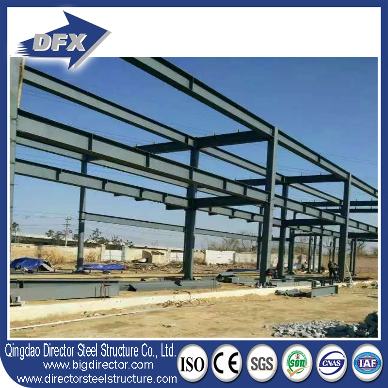 China Fast Construction Prefabricated Steelframe/Prefab Steelwork ...