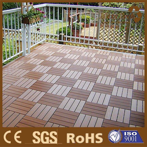 China Waterproof Outdoor Floor Covering Manufacturer Wpc Decking Board