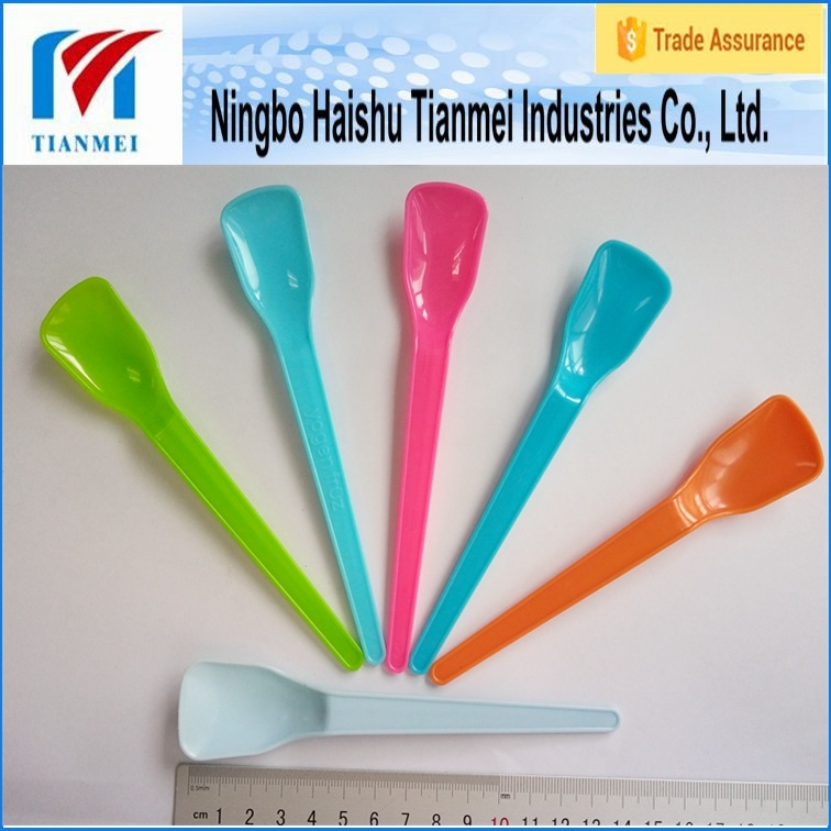 Customed Disposable Dessert Ice Cream Spoon pictures & photos