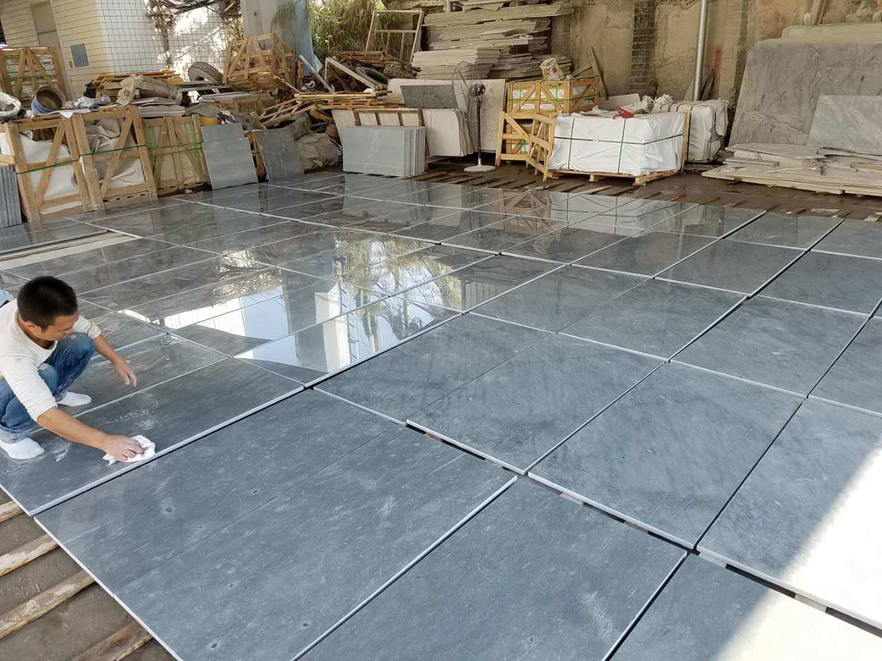 Galaxy Grey Granite Tiles