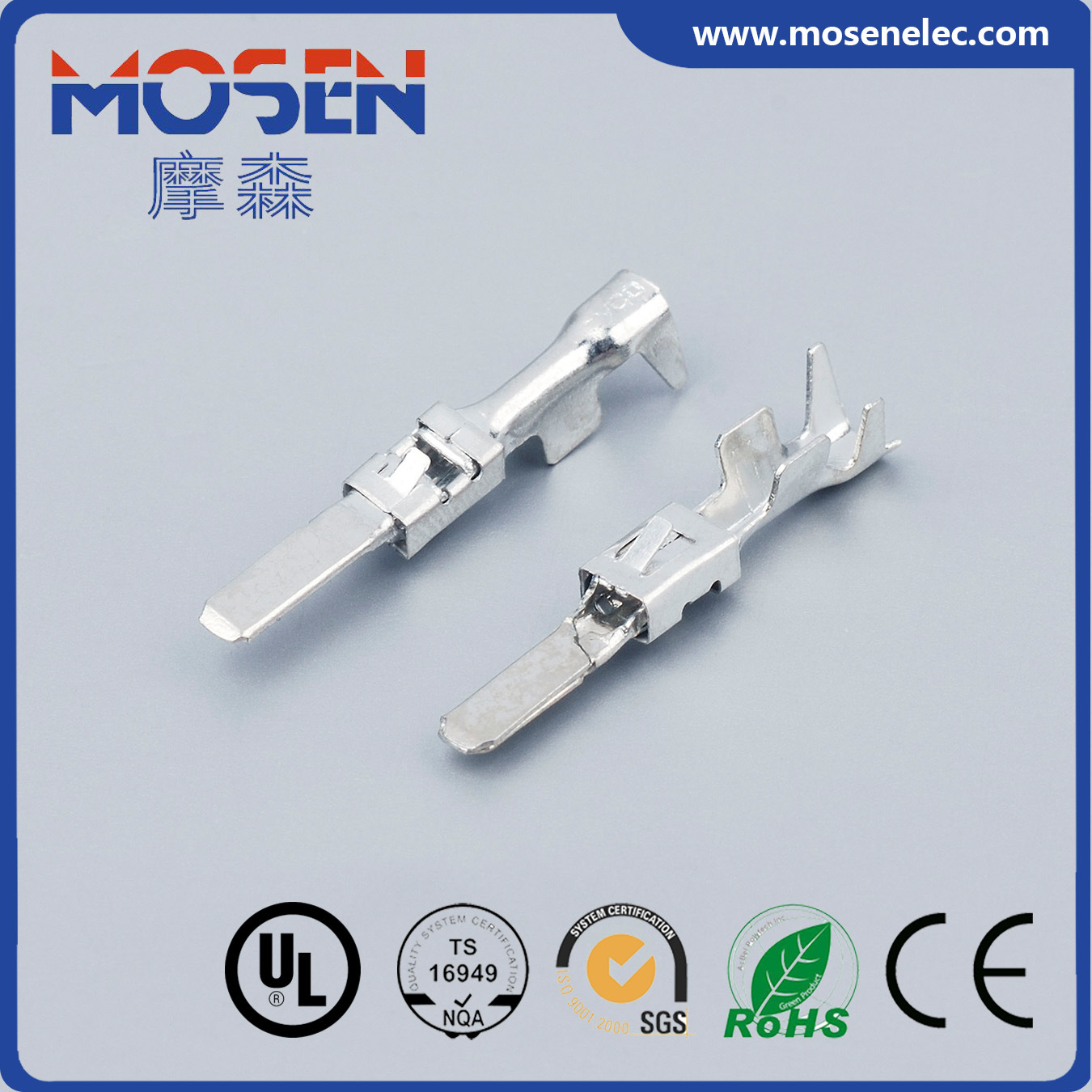 China Brass Pins DJ619-2.8*0.8b Binding Post Male Female Terminal ...