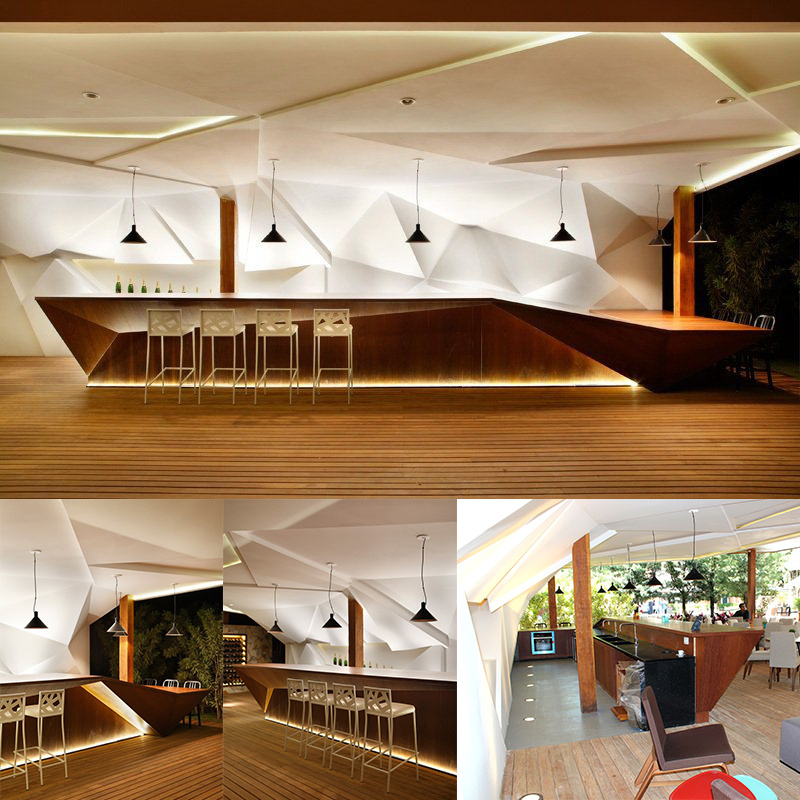 Commercial Bar Decor Ideas: China Wholesale Latest LED Night Club Bar Counter Design