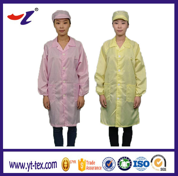 China Anti Static Garments and Textile Products Cleanroom