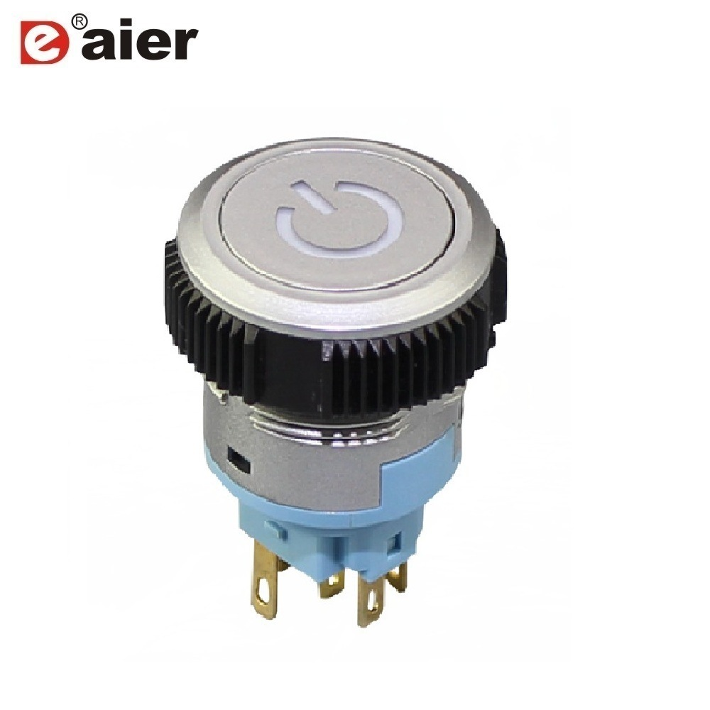 China Waterproof On On Momentary Push Button Power Switch With Logo China Power Switch Push Button Switch