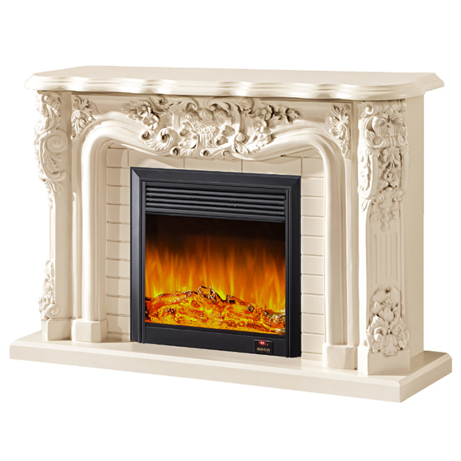 [Hot Item] Home Appliance Decor Flame LED Electric Fireplace Insert Wall  Mounted Heater