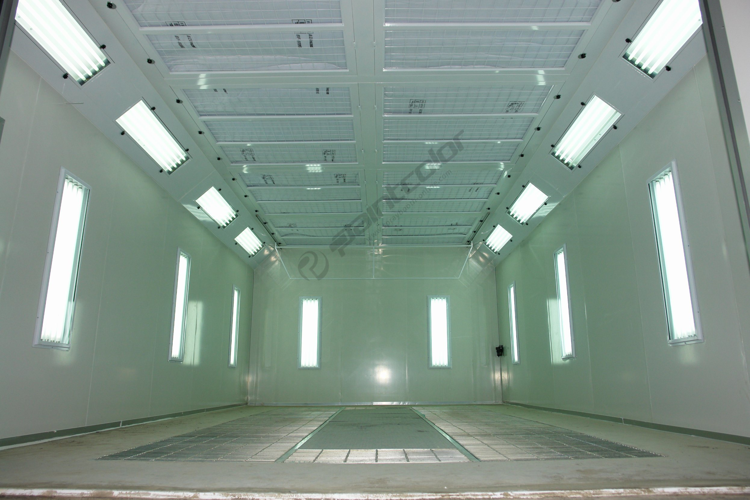 China Industry Leading Automotive Paint Booths ...