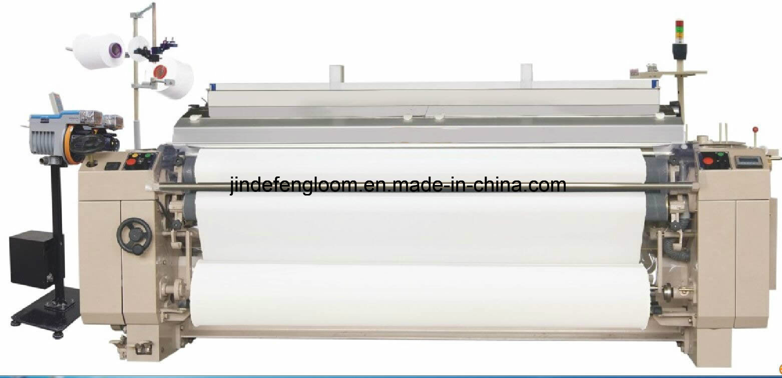 High Speed Dobby Water Jet Loom with Electronic Double Nozzle