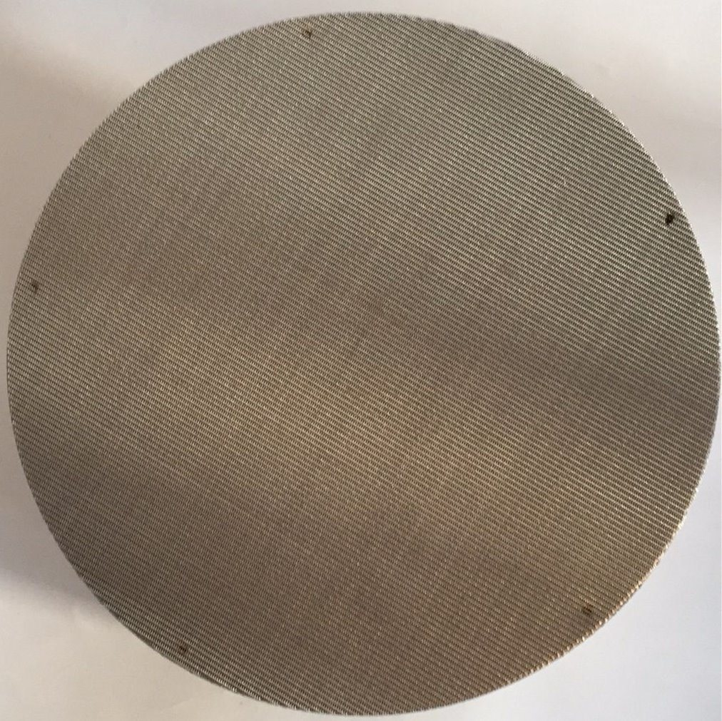 China SS304 SS316 SS316L Plain Weave 20 40 60 80 Mesh Black Wire ...