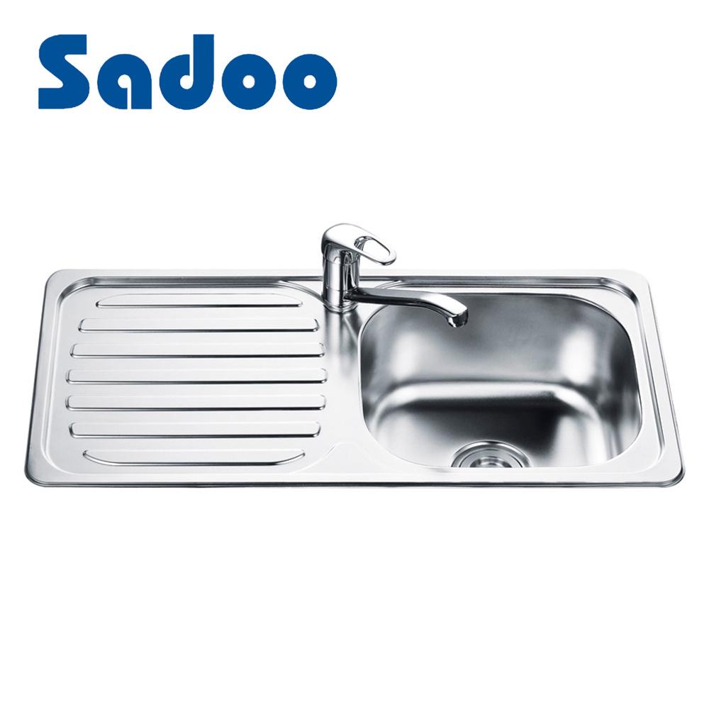 Used kitchen sinks stainless steel drain board type made in china china sinks stainless steel kitchen sink