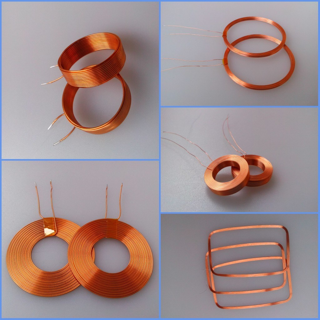China Thin Copper Wire Electric Induction Self-Bonding Air-Core Coil ...