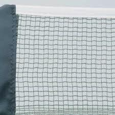 Portable Badminton Net, 4mm Braided Polyethylene Rope, International Standard Size