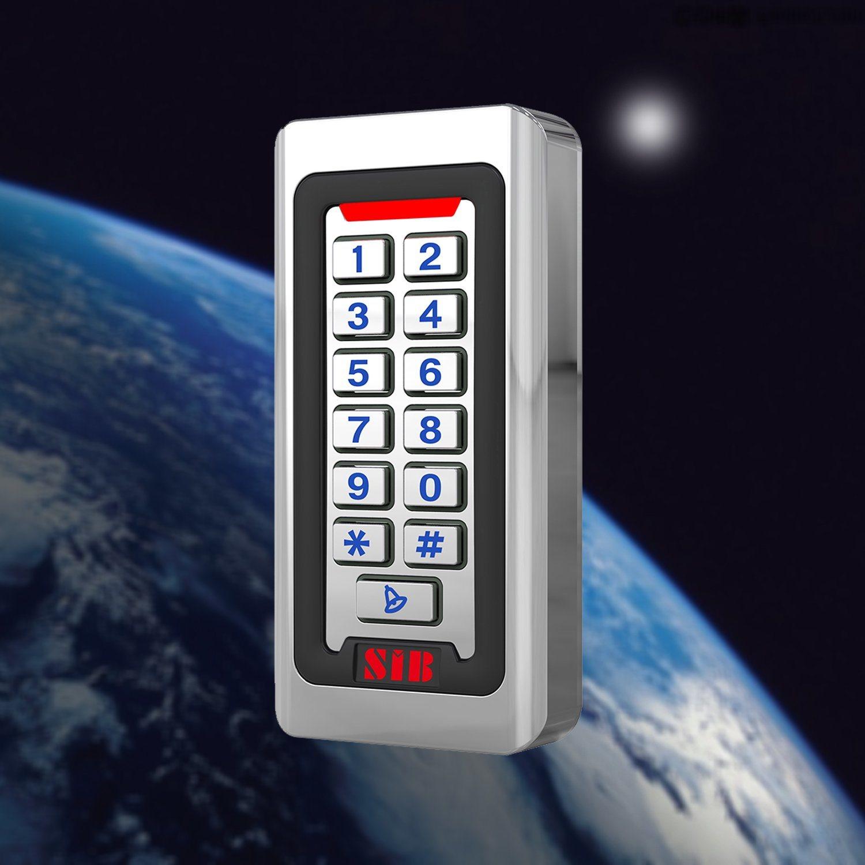 Waterproof Metal Silicon Keypad RFID 125Khz EM Card Access Controller Backlight