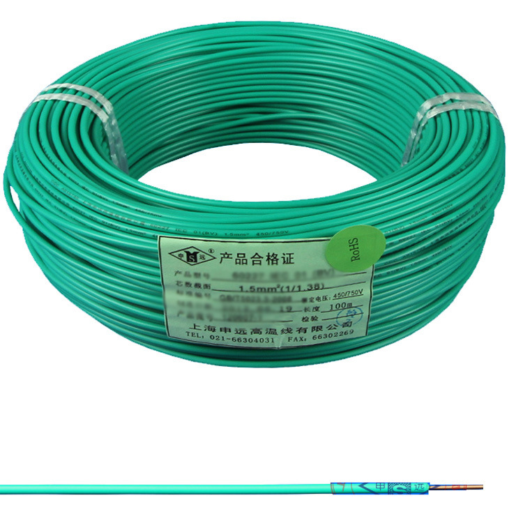 China Flexible PVC Insulated Electrical/Electric Power Wire - China ...