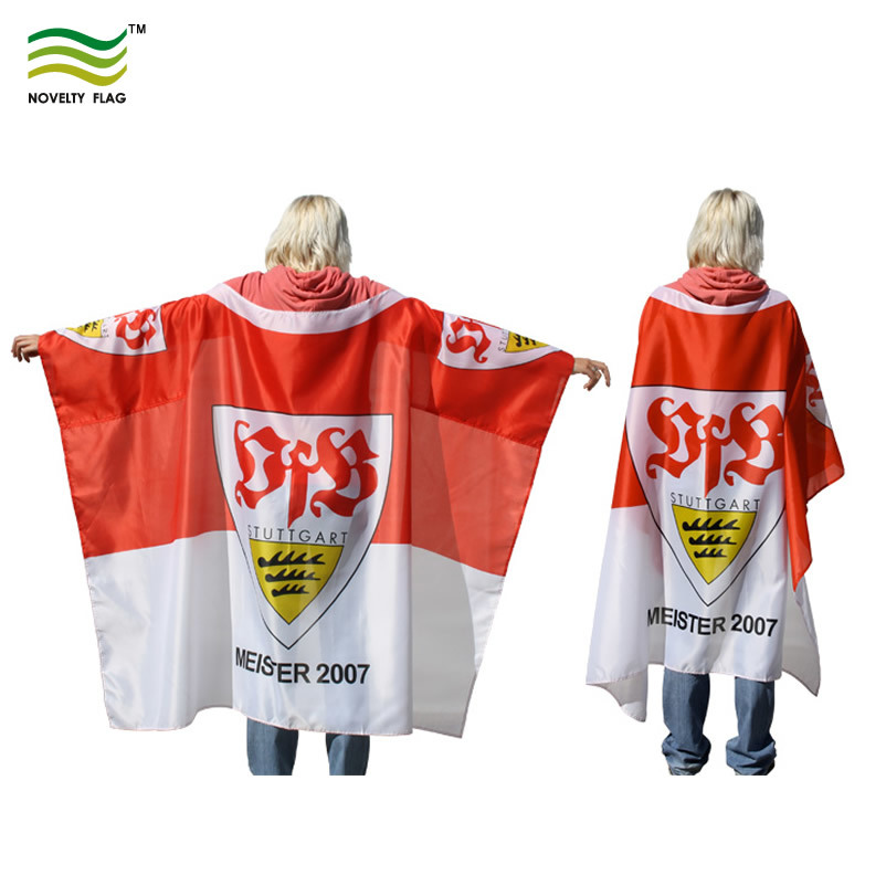 Sports Fan Cape Polyester Body Flag 5′ X 3′ pictures & photos