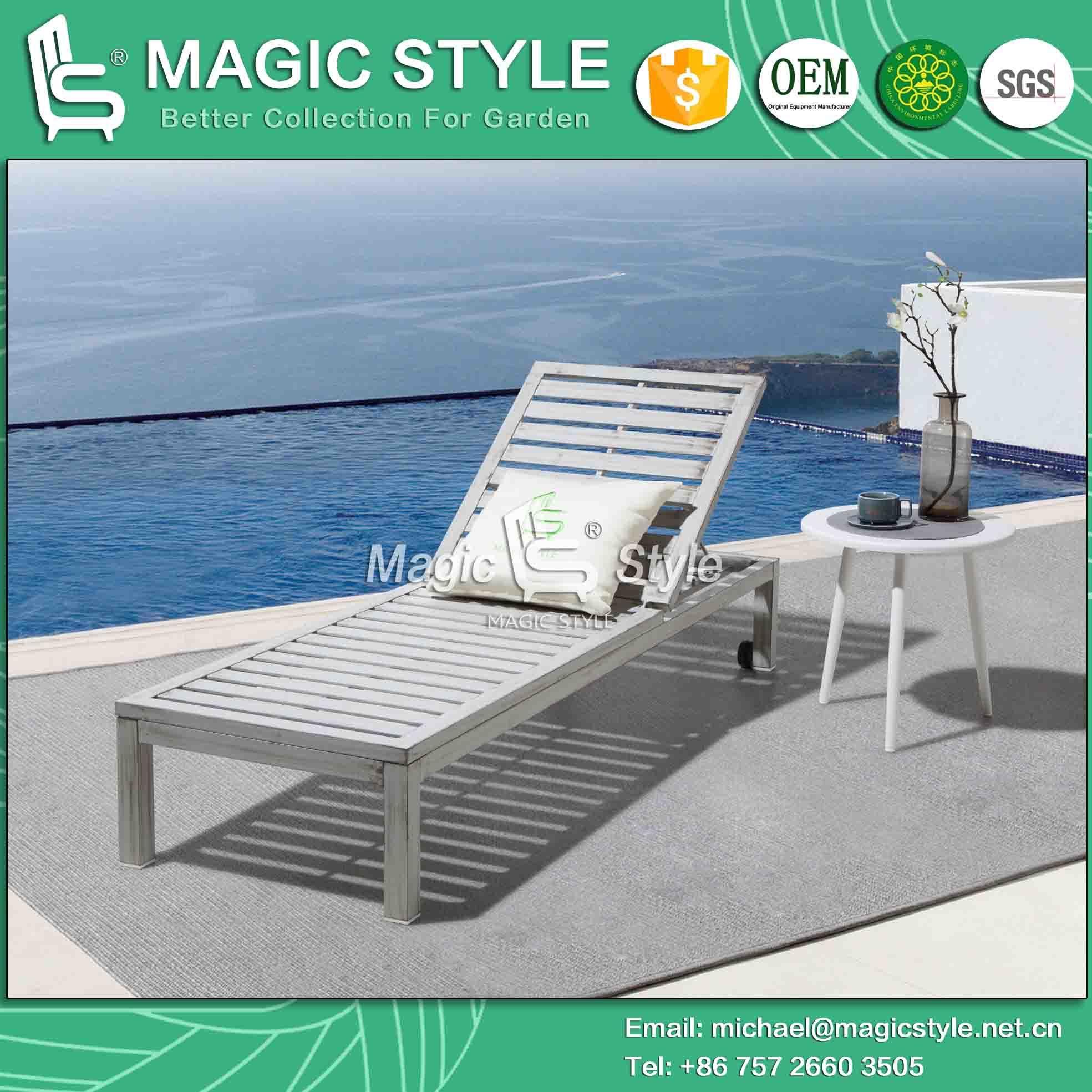 Lounge Garden Sweep Sunlounger Patio