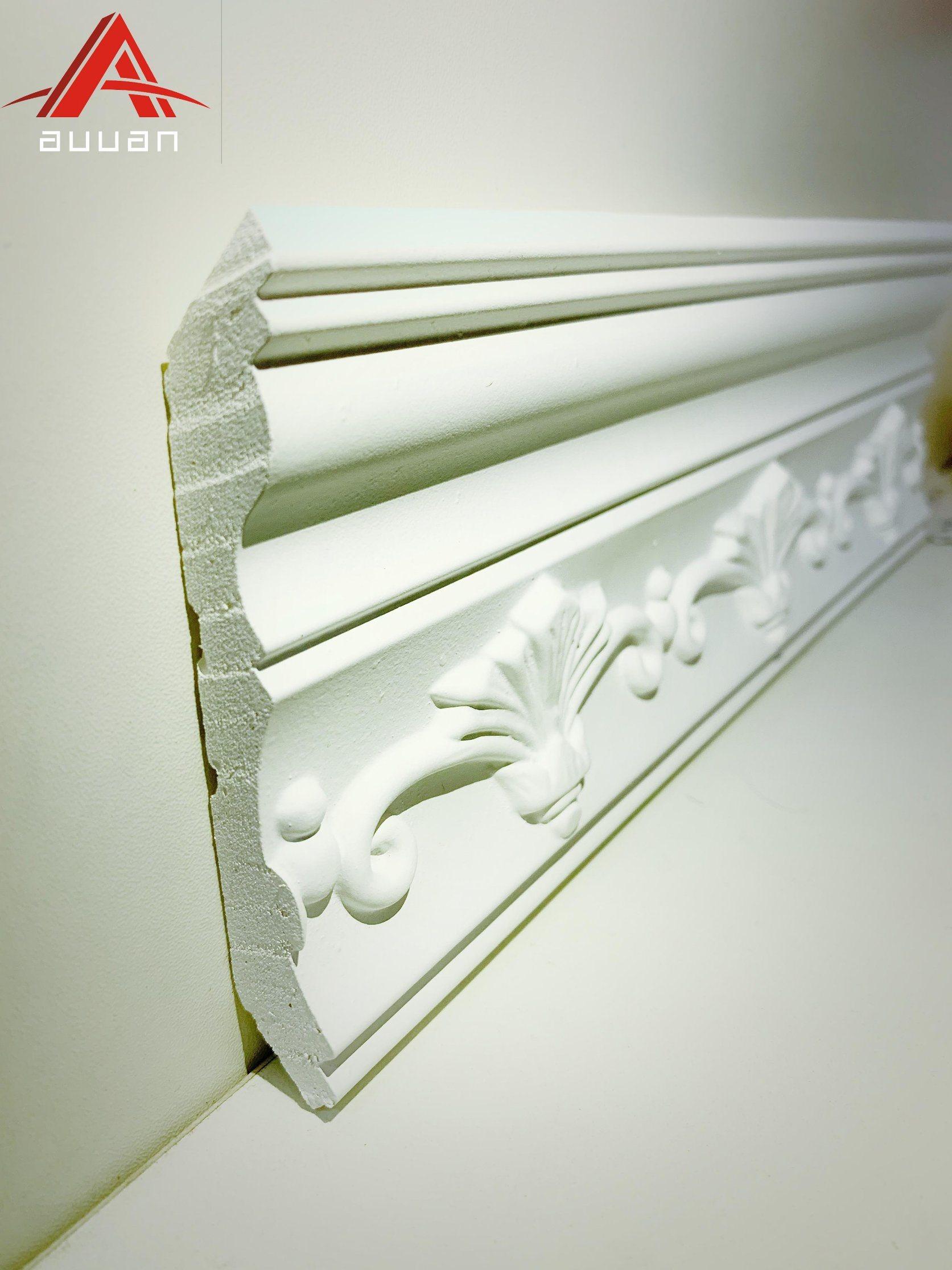 China 81027 Guangzhou Polyurethane Pop Design Foam Cornice Moulding