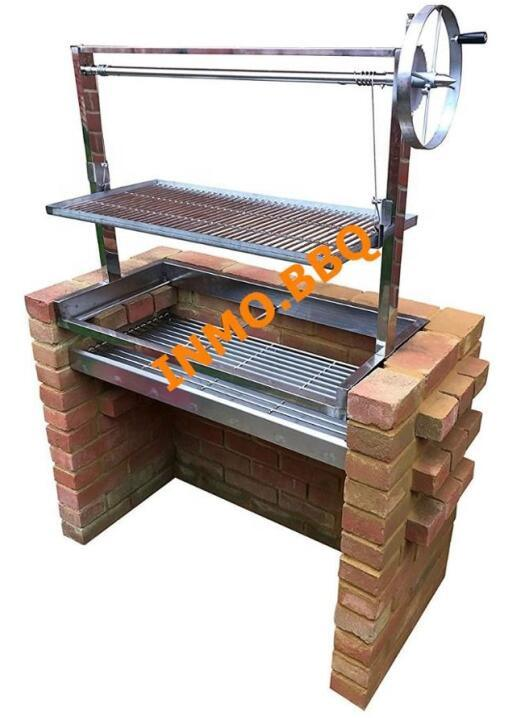 China S Built In Brick Bbq Diy Grill Kit With Argentinian Adjule Heights And Price