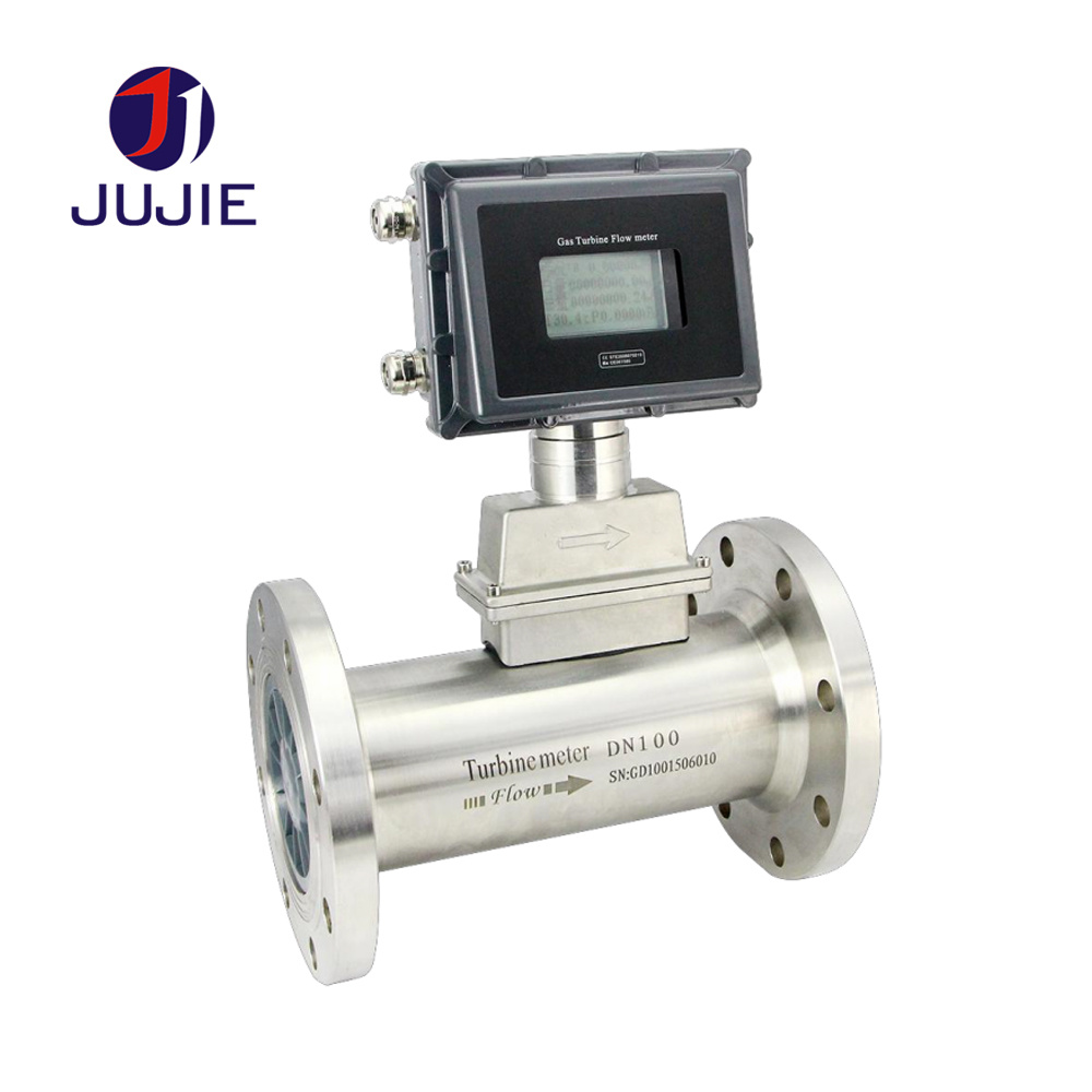 [Hot Item] Gas Turbine Flowmeter with Temperature and Pressure Compensation  Gas Turbine Flow Meter