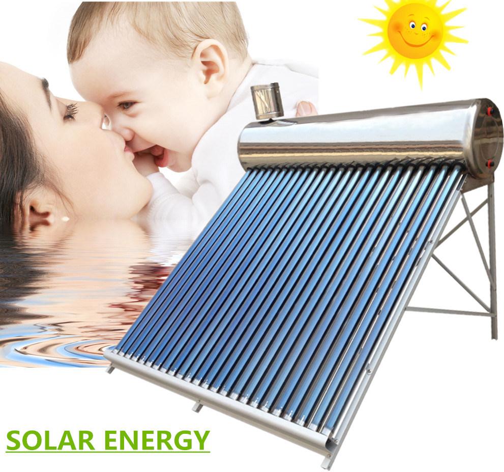 China Low Pressure/Unpressure/Unpressurized Solar Energy Hot Water ...