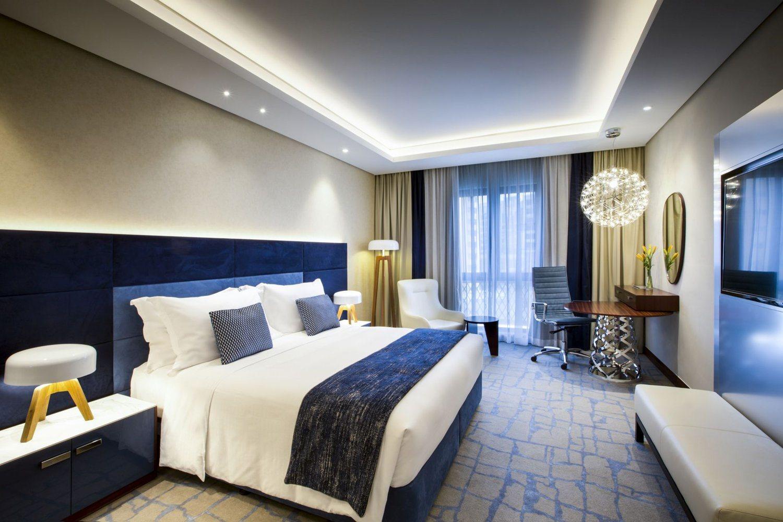 China Modern Blue Velvet Headboard Bed Box For Hotel Guest Rooms China Velvet Headboard Blue Bed Box