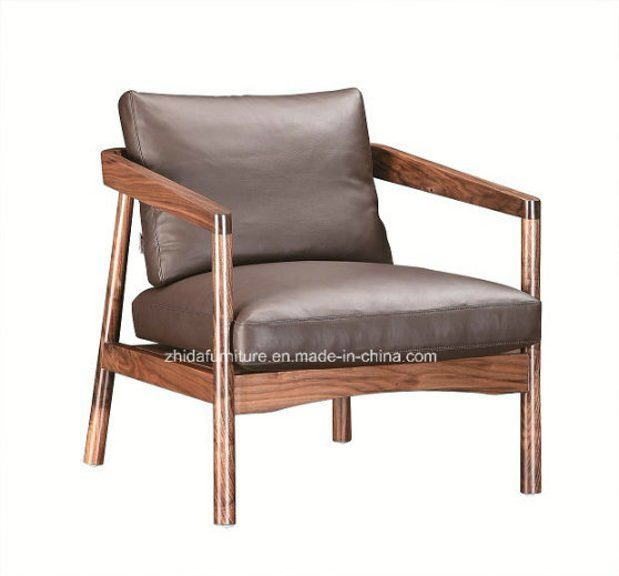 China New Design Leather And Fabric Arm Chair Mc1501 Photos