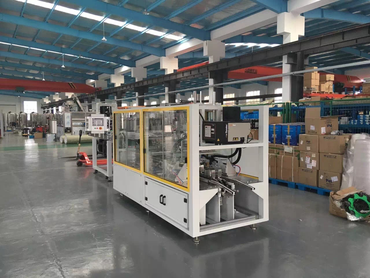 Hot Glue Wrap Around Sink Type Paper Box Cartoning Packing Machine Cartoner Equipment pictures & photos