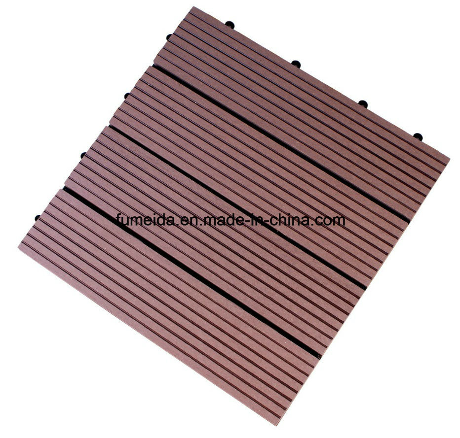 China Wpc Wood Plastic Composite Decking Floor Tile For Outdoor 300