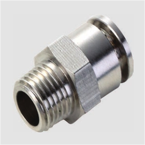 Pl Male Straight Brass Pneumatic Metal Fitting pictures & photos