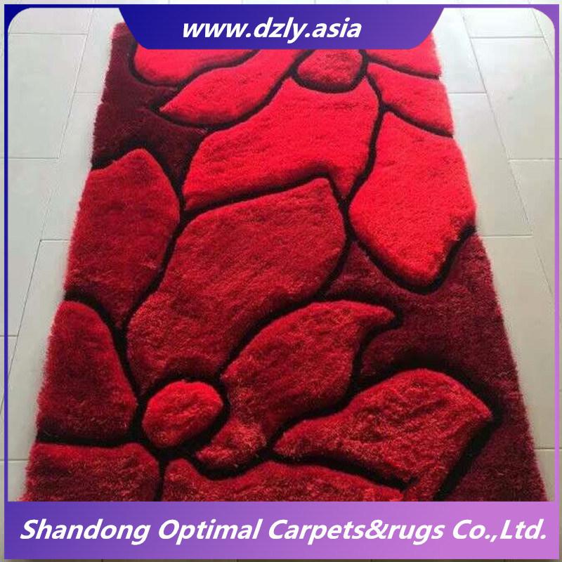 China Handmade Tufted Carpet Furry Rug For Living Room
