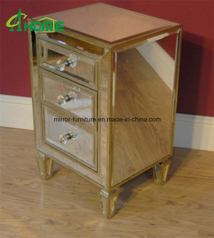 China Bedroom Handmade Mirrored, Home Goods Mirrored Side Table