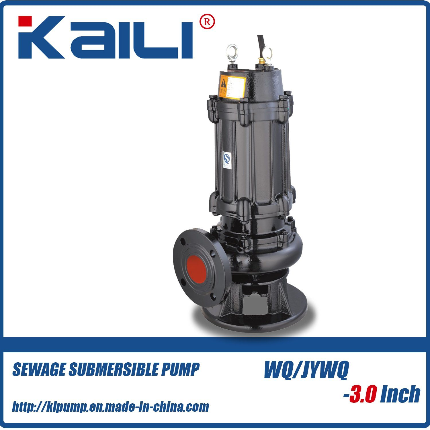 2Inch WQ Sewage Submersible Water Pump