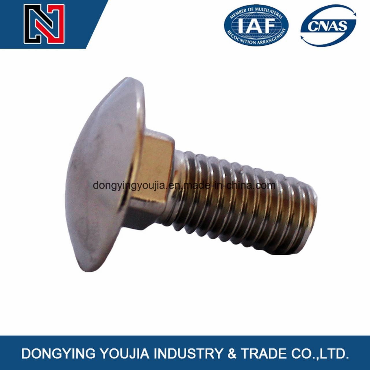 DIN603 Round Head Square Neck Bolts