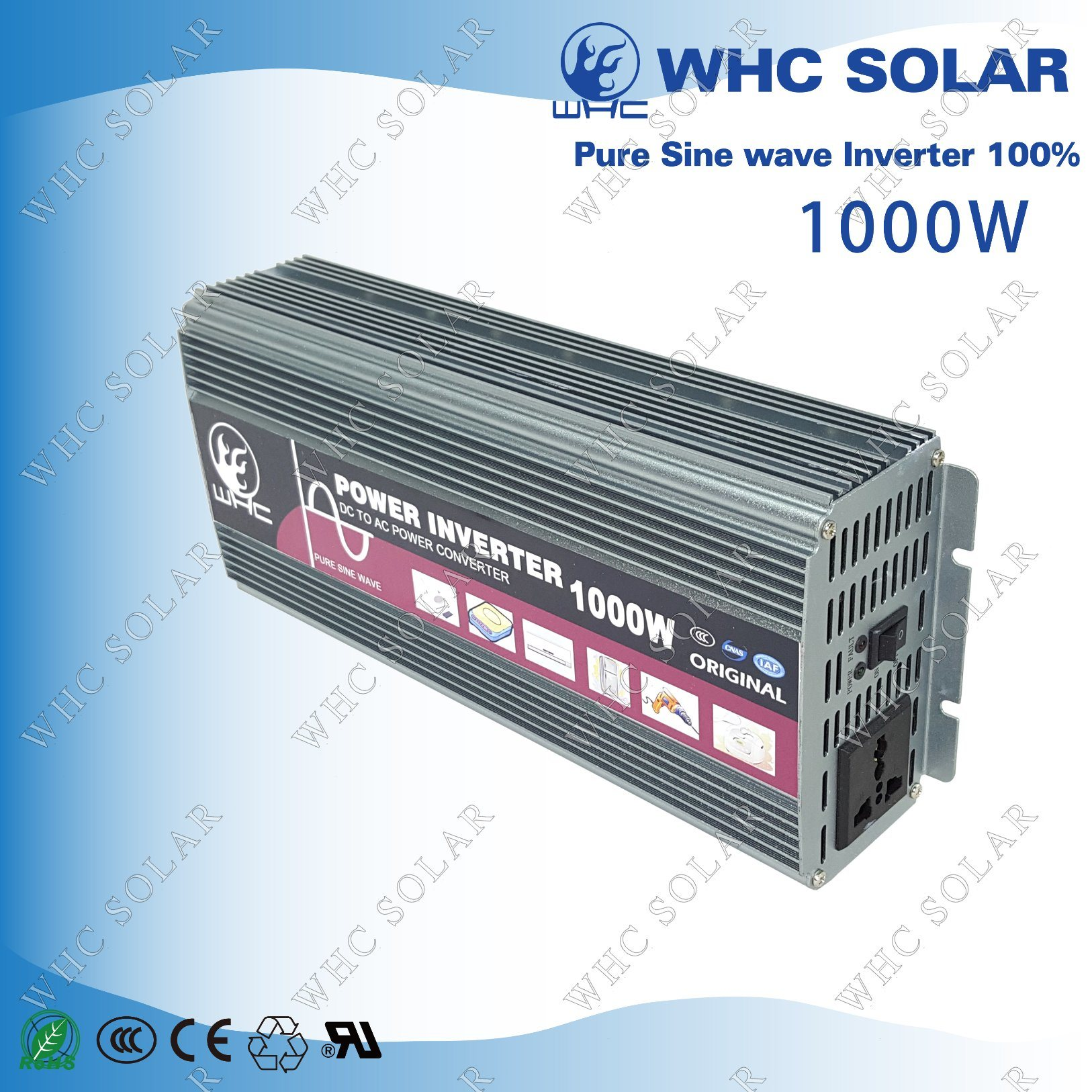 12V1000W Full Power High Frequency Pure Sine Wave Inverter pictures & photos