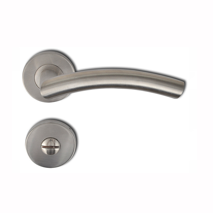 Lever Hardware Pull Lock Ss Door Handle Stainless Steel Door Lever Window Handle pictures & photos