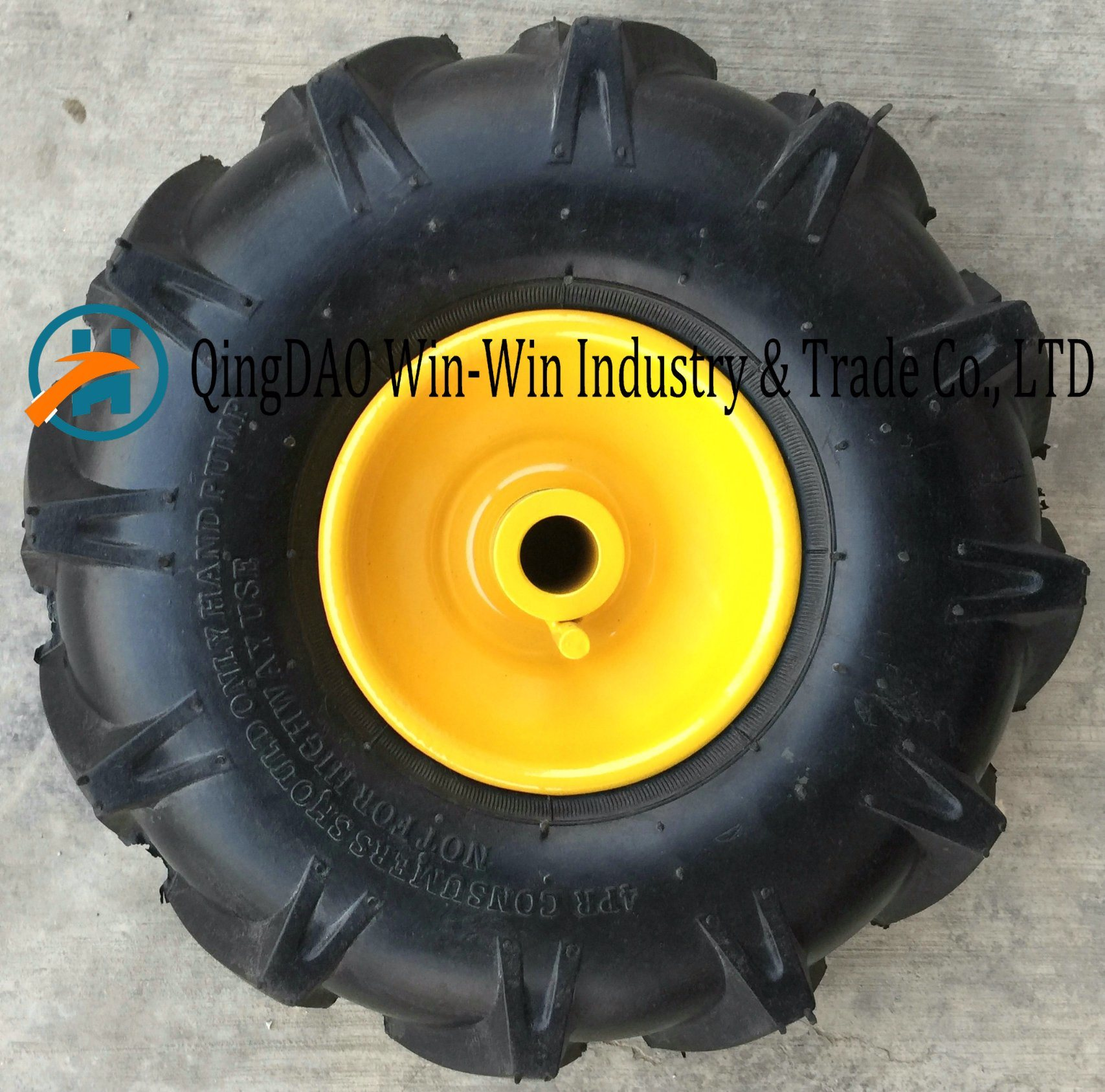 Colorful Wheelbarrow Wheel for Tool Cart Snow Machine Sweeping Machine pictures & photos