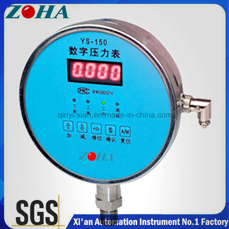 Ys-150 Digital Pressure Gauge with Accuracy 0.1% or 0.2%