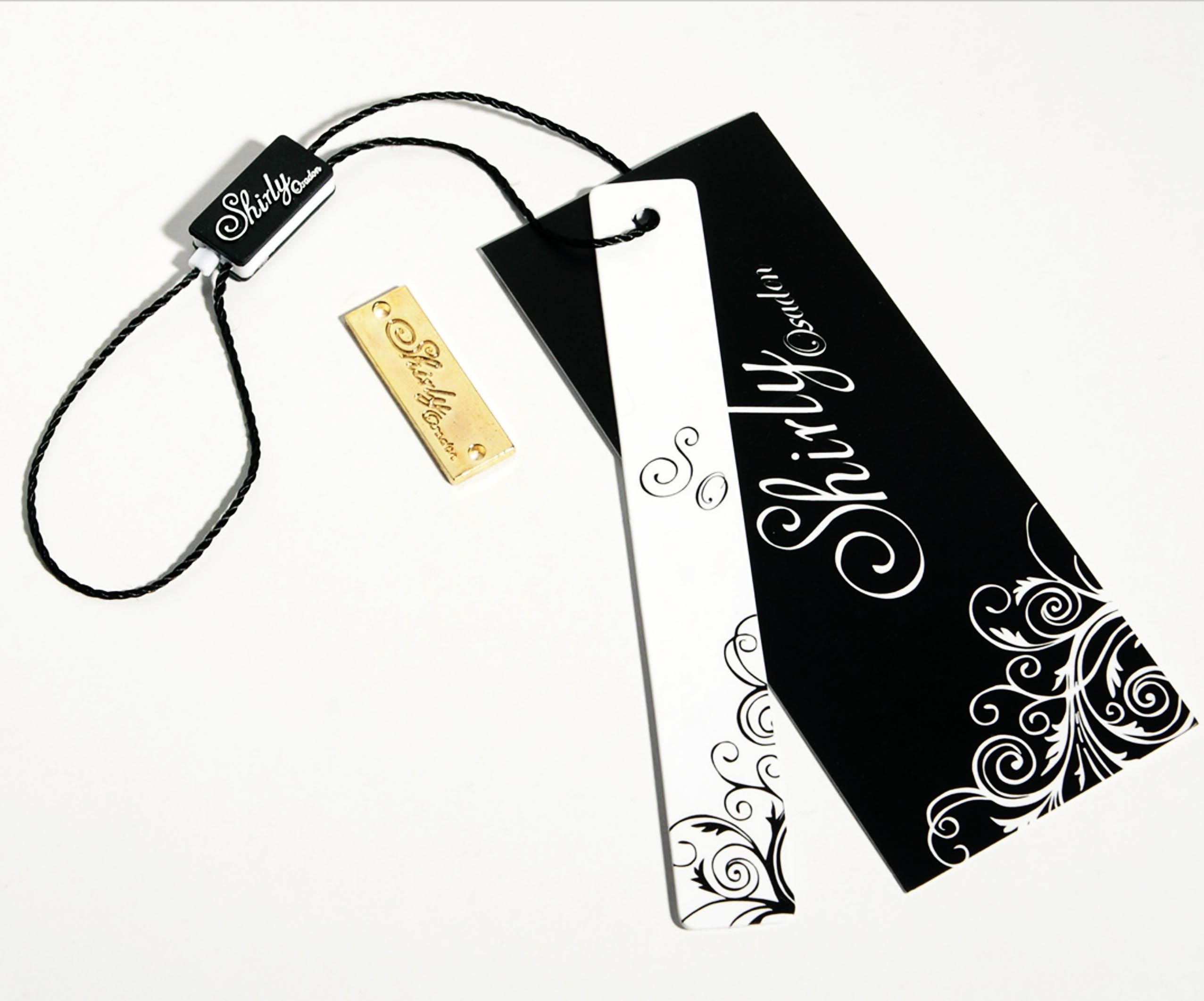 Swing Tag Garment Paper Hangtag, China Clothing Hang Tag, Garment Price Tag